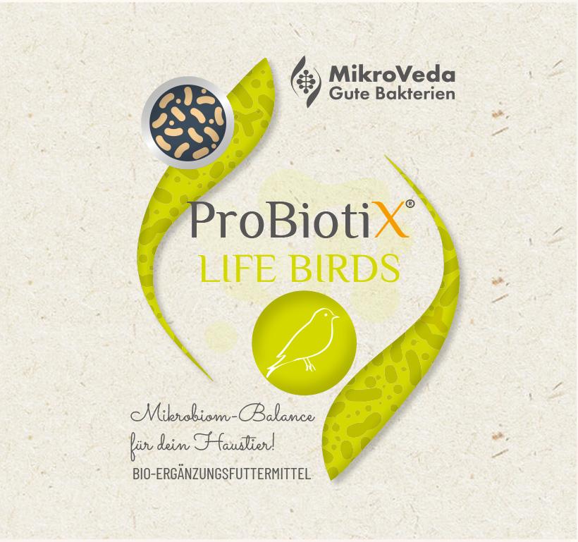 ProBiotiX LIFE BIRDS Bio Ergänzungsfutter 250 ml Tropfflasche