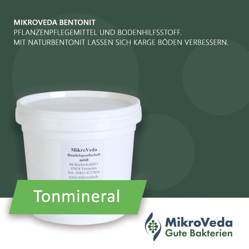 MikroVeda BENTONIT Tonmineral 4,5 kg