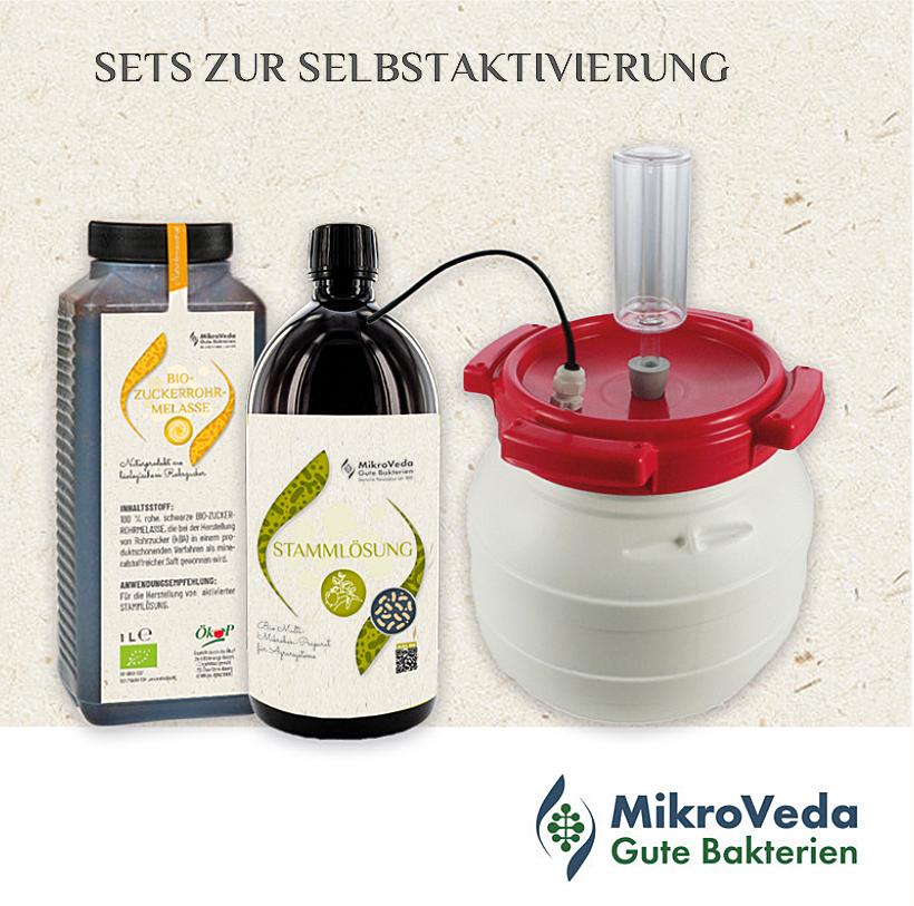 Mikrobrüter-Set 30 Liter zur Selbstaktivierung mit Zubehör